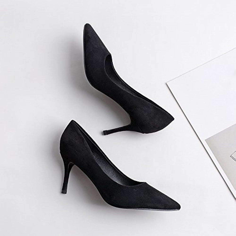 DIDIDD Ms. Punta Tacco Alto con Belle Scarpe Autunno con Tacco Alto Sexy Scarpe con Tacco Alto Scarpe Huidong,...   Materiale preferito    Maschio/Ragazze Scarpa