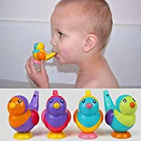Aokshen Bird Water Whistle Baby Toddlers Kids Children Bath Toy Gift 1pcs - Random Color