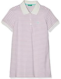 05249b8d7402cf United Colors of Benetton Girl's H/S Polo Shirt