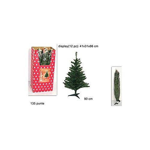 Albero Di Natale Piccolo Altezza 90cm 135 Rami Ca006933