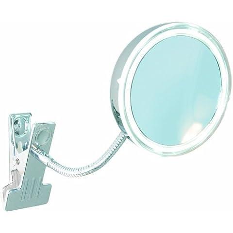 Enzo Rodi 411610 - Specchio a LED con morsetto