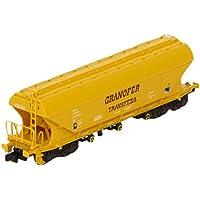 Arnold - Vagón tolva Uanpps laterales plano Granofer Transfesa (Hornby HN6271)