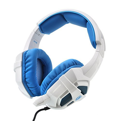 SADES SA-738 Stereo Surround Sound Headset LED