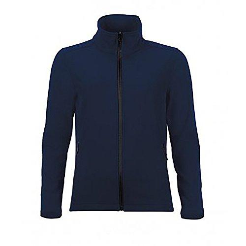 Sols Damen Race Softshell Jacke Wasserabweisend (L) (Marineblau) Race Softshell