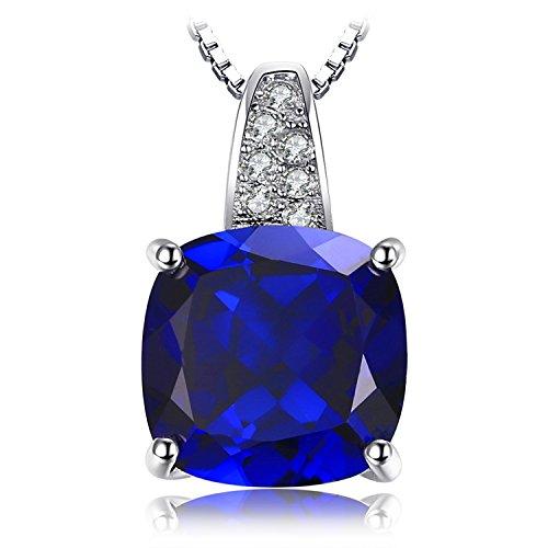 11995397ab3d JewelryPalace Colgante elegante adornado Zafiro en plata de ley 925