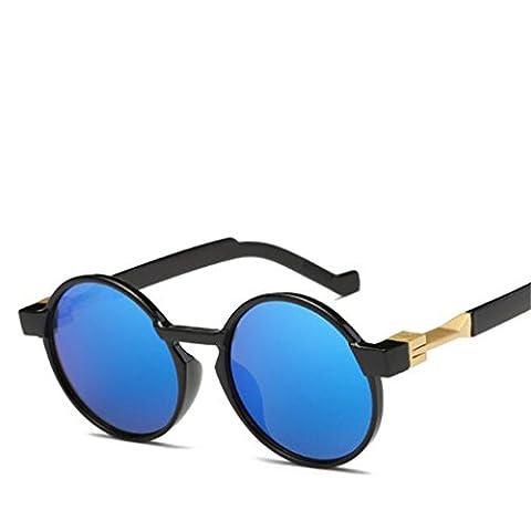 Wmshpeds Europa und die Vereinigten Staaten von Trend Sonnenbrille, reflektierenden Farbe film Sonnenbrille, retro Sonnenbrille