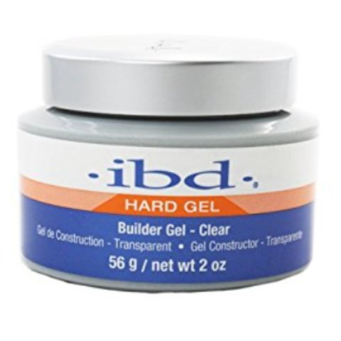 IBD Hard Gel Builder Gel Clear - Gel Transparent 56 g