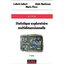 STATISTIQUE EXPLORATOIRE MULTIDIMENSIONNELLE. 2ème édition