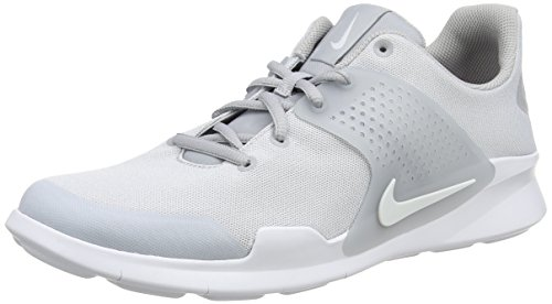Nike 902813, Herren Low-Top Sneakers, Grau (Wolf Grey/White), 44.5 EU (Basketball-zubehör Nike)