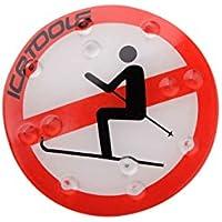 Icetools Pad antidérapant pour snowboard Motif interdiction de skier 12/13