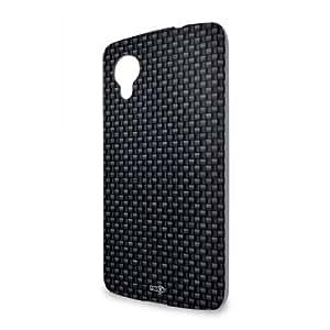 Handyschale Handycase für LG Nexus 5 veredelt mit YOUNiiK Styling Skin - Carbon