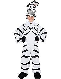 Unisexe Enfants Cosplay Animal Déguisement Fête Costume Combinaison Girafe/Zebra déguisement 128cm