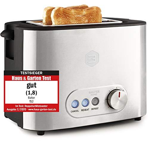 Balter Toaster 2 Scheiben  Brötchenaufsatz...