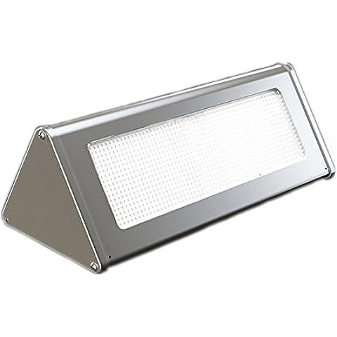 Locisne 48 Sensore di luce LED 30LM solare movimento notte, impermeabile Wireless Solar Energy Powered luce di sicurezza, esterna Super Bright Light alluminio coperture di lampada, sensore 5-10m per giardino, all