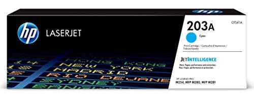 HP 203A (CF541A) Original Toner (für HP LaserJet Pro M254, HP LaserJet Pro M280, HP LaserJet Pro M281) blau -
