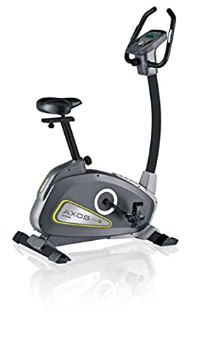 Kettler Heimtrainer Fahrrad AXOS Cycle P - Farbe: Grau - das ideale Hometrainer Fahrrad - Artikelnummer: