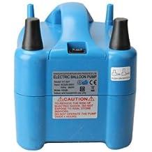 Hrph Nozzle EleGlobo Globo eléctrico 680W boquilla de la bomba de aire para inflar co PK-302 / HT-508 / HT-507 Azul de alta velocidadn