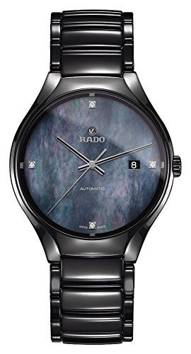 Rado True Femme Diamant 40mm Bracelet Céramique Automatique Montre R27056872