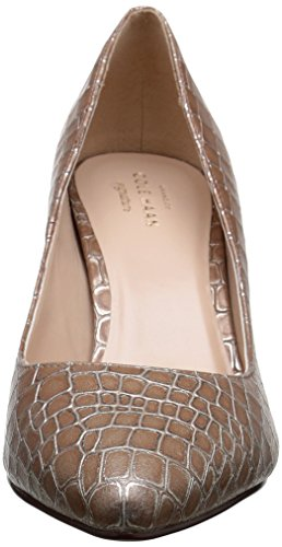 Cole Haan Juliana 75 Pump Dress Beige Crocodile Print