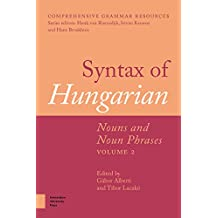 SYNTAX OF HUNGARIAN (Comprehensive Grammar Resources)