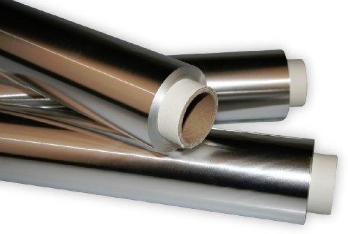 Industriefolie aus Aluminium - Alufolie 29,5cm x 50m, Dicke 36my