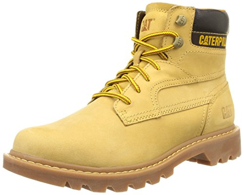 Caterpillar Bridgeport, Bottes Chukka Cheville Bottes homme - Marron (Honey Reset), 43 EU