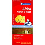 Africa North & West (Michelin National Maps)