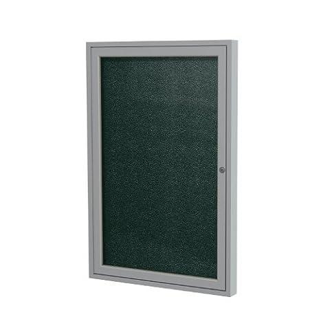 Ghent 36 x 30 Inches 1-Door Satin Frame Enclosed Vinyl