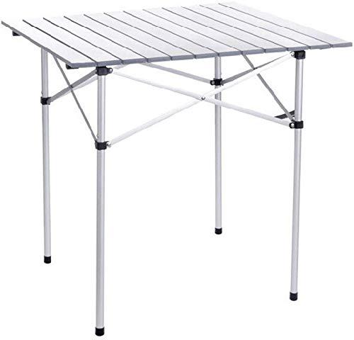 CNDY Klapptisch Campingtisch Outdoor Klapptisch Laptop Camping Klapptisch Aluminiumlegierung Picknicktisch Tragbarer Tisch