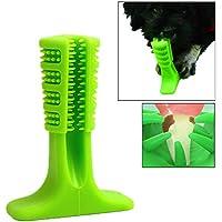 TAOtTAO Perro Molar Stick Cepillo Cepillo Cepillo Cepillo de Doggy Cepillo Cepillo Efectivo, verde