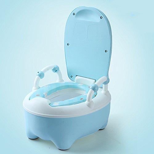Toilettes pour enfants Chaise de, Pot de bébé, Pieds ergonomiques au Design Ergonomique Confortable   Funky Designs for Potty Training Your Boy Or Girl