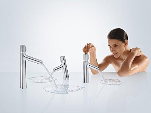 Hansgrohe – Waschtisch-Einhebelarmatur, Ablaufgarnitur, Select, Chrom, Serie Talis Select S - 3