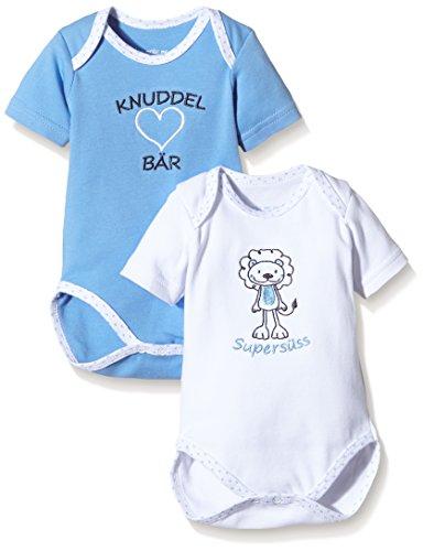 SALT AND PEPPER Baby - Jungen Body NB Set, Mehrfarbig, Gr. 62, Mehrfarbig (original 099)
