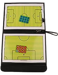 MagiDeal Pliable Tableaux Tactiques Magnétique Entraînement de Football avec Stylo