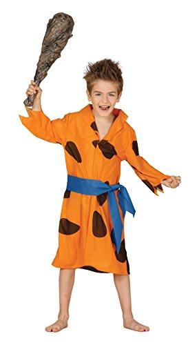Zubehör Flintstones Kostüm - Guirca-Kostüm Flintstones, für Kinder von 5-6Jahren, Orange (83351)