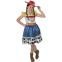 Rubie's–Disfraz oficial de Disney, Toy Story, de Jessie, con falda juvenil, para niños de 9–10años