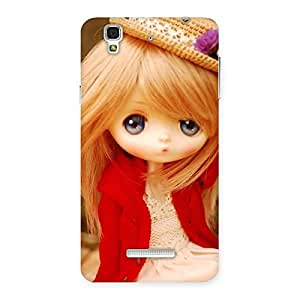 Premium Tiny Bride Girl Multicolor Back Case Cover for Yu Yureka