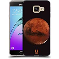 Head Case Designs Mars Espace Étui Coque en Gel molle pour Samsung Galaxy A3 (2016)