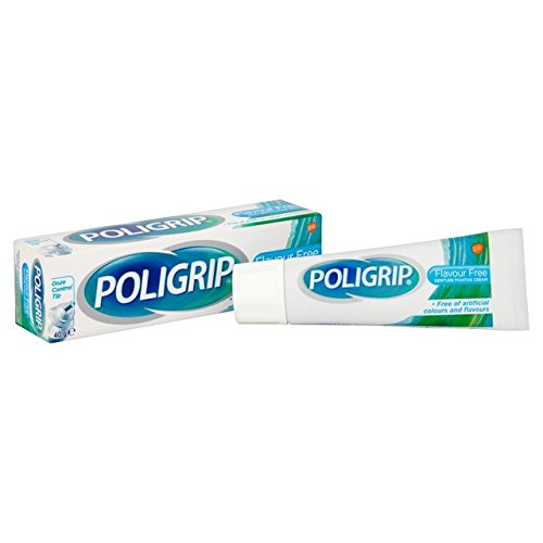 Poligrip Prothese Creme Fixative Flavour Kostenlose 40g