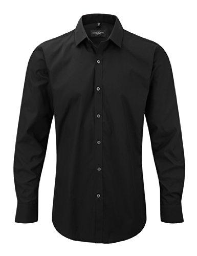 Z960 Ultimate Stretch Hemd Langarm, Farbe:Black;Größen:3XL (47/48) (Lycra-hemd)