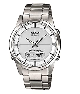 Casio Orologio Analogico-Digitale Quarzo Uomo con Cinturino in Titanio LCW-M170TD-7AER (B00IF3KDIS) | Amazon price tracker / tracking, Amazon price history charts, Amazon price watches, Amazon price drop alerts