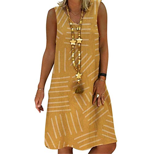 Glomixs Vestidos De Fiesta para Bodas Talla Grandes Vestidos Playa Mujer Vestidos Casuales Vestido Midi Vestido Verano Vestidos Mujer Vestido