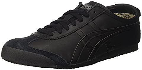 Asics Herren Mexico 66 Sneakers, Schwarz (9090-13), 45 EU