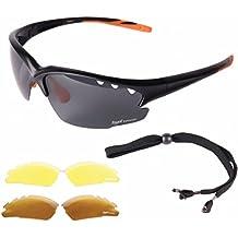 Sonnenbrille Sportbrille Anglerbrille schwarz polarisiert Angeln Segeln Surfen b99AP0bV9