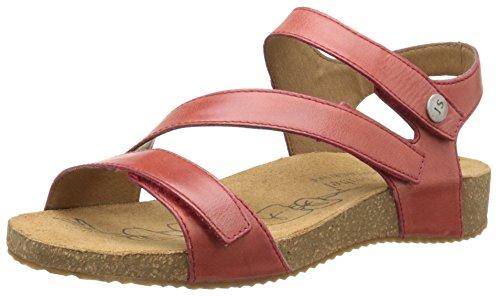 Josef Seibel Tonga 25, Sandale Damen, rot - Rouge (815 350 Red) - Größe: 40 EU