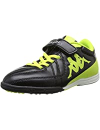 Kappa Kappa 4 Soccer Player Tg Elastic-Velcro - Zapatillas de Deportes de Exterior de material sintético niño