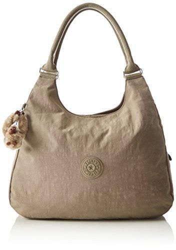 Kipling Bagsational, Borse a Tracolla Donna, Grigio (828 Warm Grey), 39x34.5x16 cm (B x H x T)