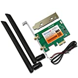 PCE-9260AC Desktop Dual Band PCI-Express X1 WiFi Adapter Wireless AC 9260NGW 1730Mbps Wireless Card PCI-E+ Bluetooth 5.0