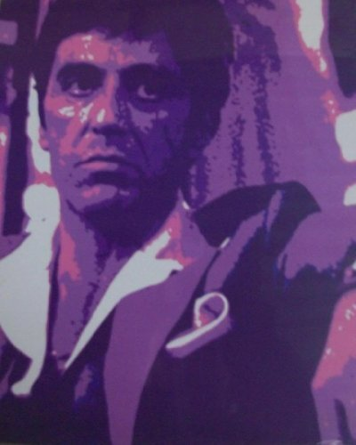 Scarface/AL PACINO–Digital Foto/Bild/Print Art (Film-poster Edition)
