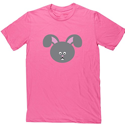 Haare Youth T-shirt (Hippowarehouse Herren T-Shirt Gr. XXL, Rosa - Pink)